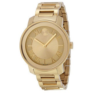 Movado Men's 3600197 'Bold' Goldtone Steel Watch