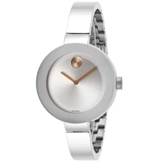 Movado Women's 3600194 'Bold' Stainless Steel Watch|https://ak1.ostkcdn.com/images/products/9464540/P16647663.jpg?impolicy=medium