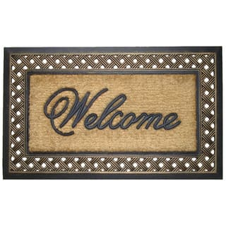First Impression Rubber and Coir Brush Large Doormat|https://ak1.ostkcdn.com/images/products/9464587/P16647716.jpg?impolicy=medium