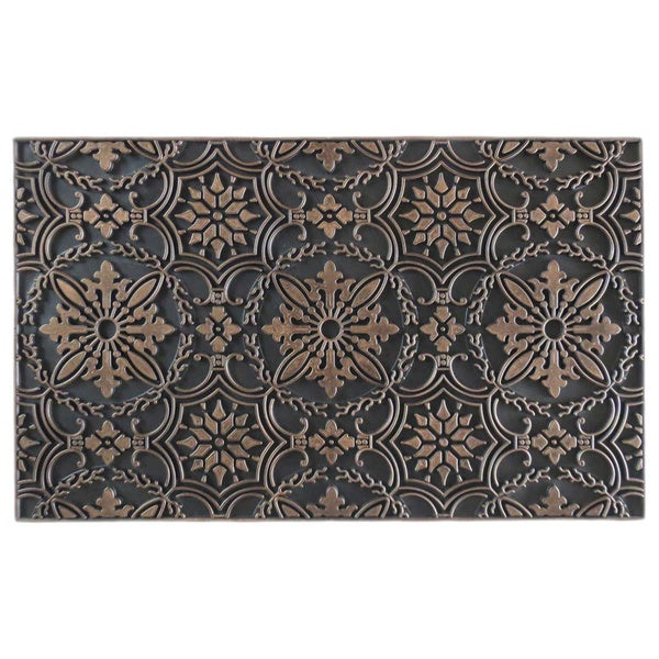 Hand Crafted Rubber Pin Doormat (1'6 x 2'6)