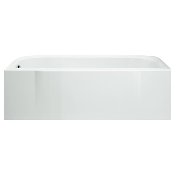 Shop Accord 5-foot Left Drain Biscuit Soaking Tub - 15 in H x 30 in ...