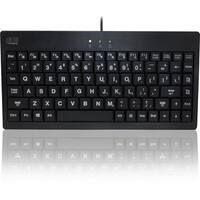 Adesso SlimTouch 110 - 3-Color Illuminated Mini Keyboard