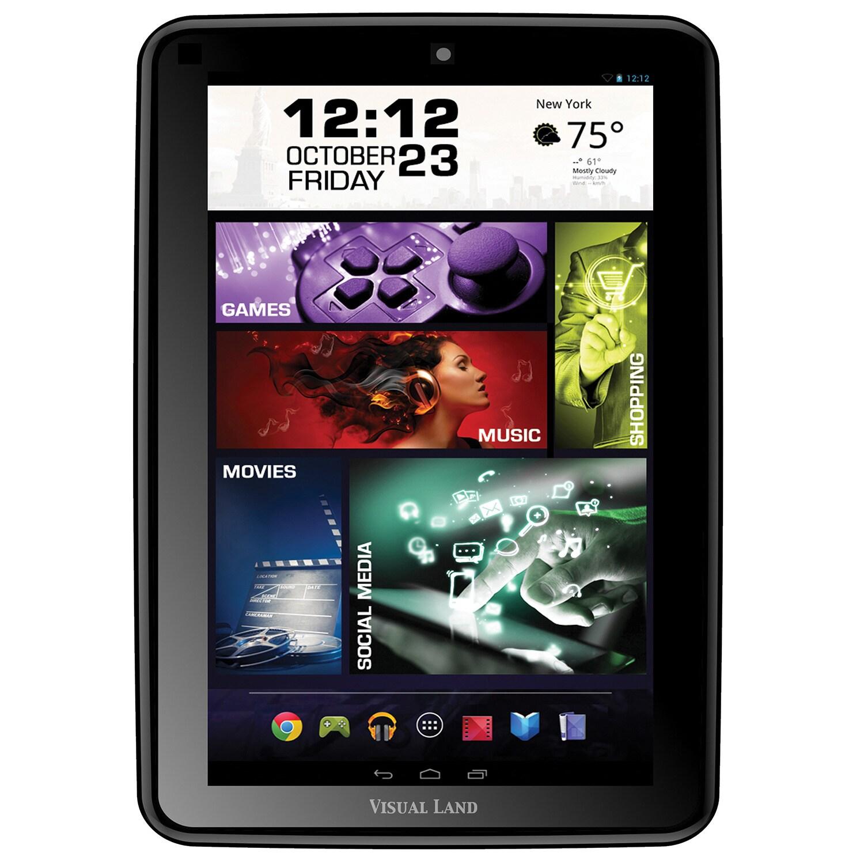 "Visual Land Prestige Elite 8Q 16 GB Tablet - 8"" - Wireles..."
