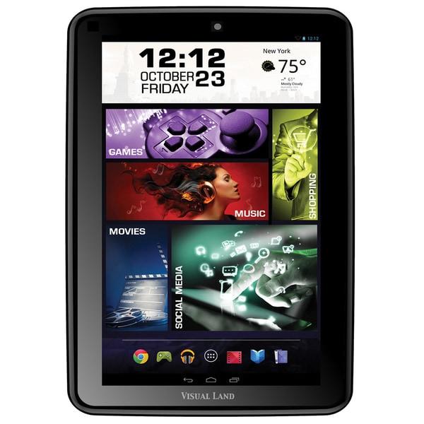 "Visual Land Prestige Elite 8Q 16 GB Tablet - 8"" - Wireless LAN - 1.60"