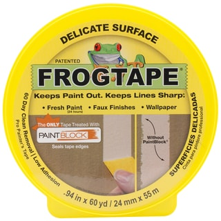 Yellow Frog Delicate Multisurface Masking Tape .94inX60yd
