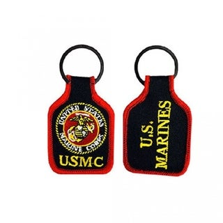 US Marine Corps Embroidered Keychain