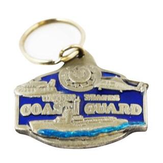US Coast Guard Military Commemorative Keychain