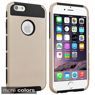 INSTEN Premium Dust Proof TPU Rubber Hybrid Case for Apple iPhone 6/ 6s