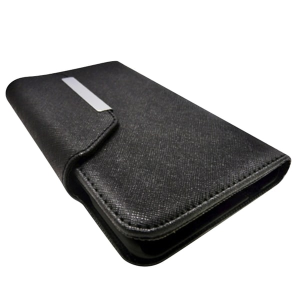 INSTEN Leather Magnetic Flap Card Wallet Case For Apple iPhone 6 Plus ...