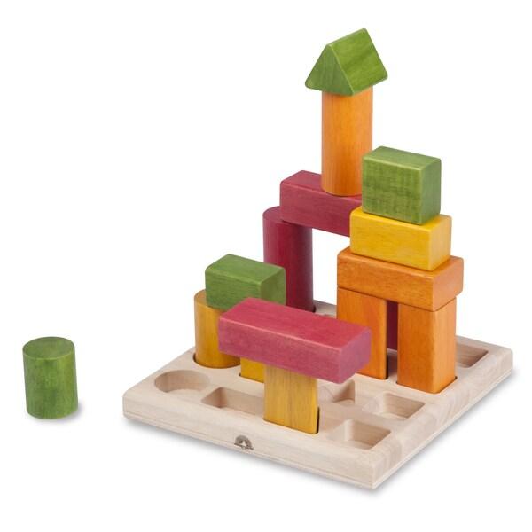 Wonderworld Natural Shape Sequence Puzzle Blocks