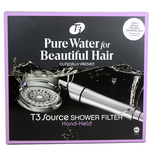 t3 source shower filter hand held unit free shipping today 16648542. Black Bedroom Furniture Sets. Home Design Ideas