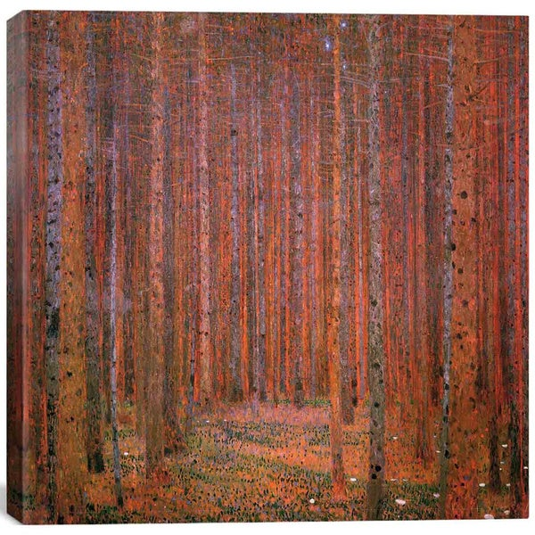 iCanvas Gustav Klimt 'Fir Forest I' Canvas Print Wall Art