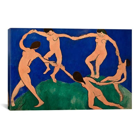 iCanvas Henri Matisse 'The Dance I' Canvas Print Wall Art