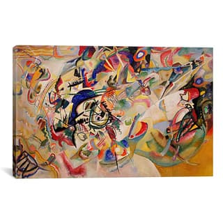iCanvas Wassily Kandinsky 'Composition VII' Canvas Print Wall Art|https://ak1.ostkcdn.com/images/products/9465532/P16648641.jpg?impolicy=medium