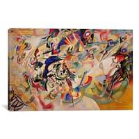 iCanvas Wassily Kandinsky 'Composition VII' Canvas Print Wall Art
