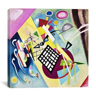 iCanvas Wassily Kandinsky 'Black Grid' Canvas Print Wall Art