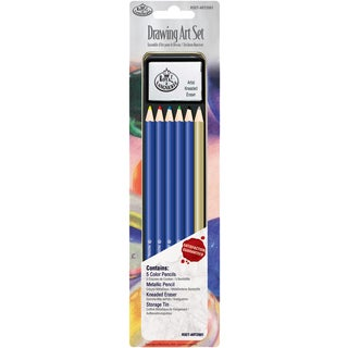 Drawing Art Set W/Tin