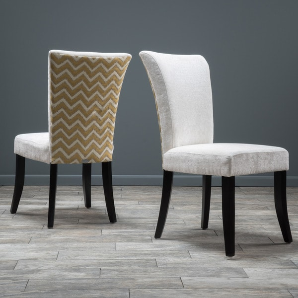 Set Of 2 Dining Chairs: Shop Stanford Fabric Dining Chair (Set Of 2) By