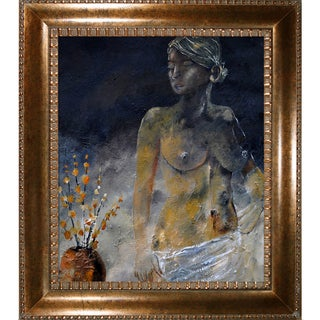 Pol Ledent 'Nude 681140' Framed Fine Art Print
