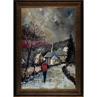Pol Ledent 'Cornimont 67' Framed Fine Art Print