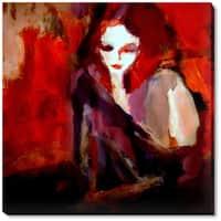Helena Wierzbicki 'Finesse' Framed Fine Art Print