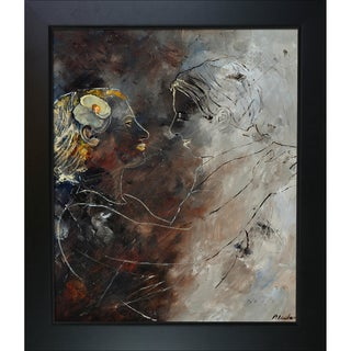 Pol Ledent 'Dancers 67' Framed Fine Art Print