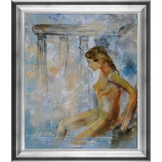 Pol Ledent 'Roman Bathing' Framed Fine Art Print