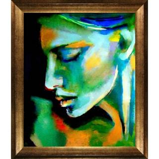 Helena Wierzbicki 'Awakening' Framed Fine Art Print
