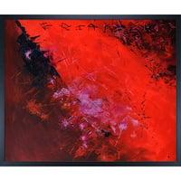 Pol Ledent 'Abstract 884512' Framed Fine Art Print