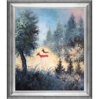 Pol Ledent 'September morning' Framed Fine Art Print