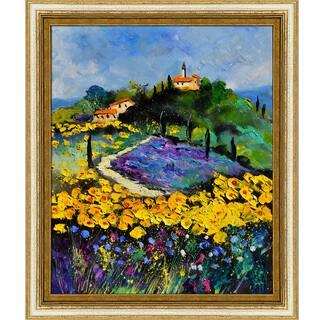 Pol Ledent 'Provence 561140' Framed Fine Art Print|https://ak1.ostkcdn.com/images/products/9465744/P16649037.jpg?impolicy=medium