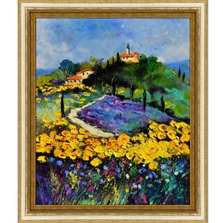 Pol Ledent 'Provence 561140' Framed Fine Art Print