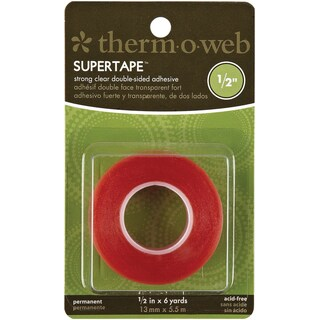 "Super Tape Double-Sided-.5""X6yd"