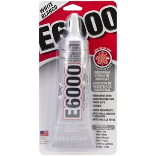 E6000 Multi-Purpose Adhesive-White 2oz
