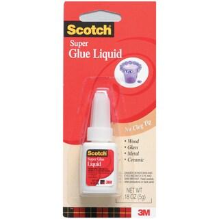 Scotch Super Glue Liquid-.18 Ounce