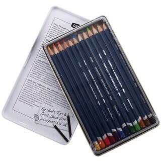 Derwent Watercolor Pencil Tin 12/Pkg