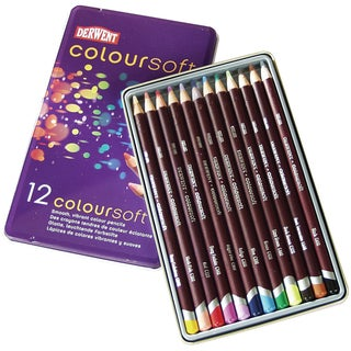 Derwent Coloursoft Pencils 12/Pkg