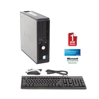 Dell 745 Core 2 Duo 1.8GHz 2048MB 1000GB Windows 7 Professional SFF Computer (Refurbished)