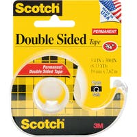 "Scotch Permanent Double-Sided Tape-.75""X300"""
