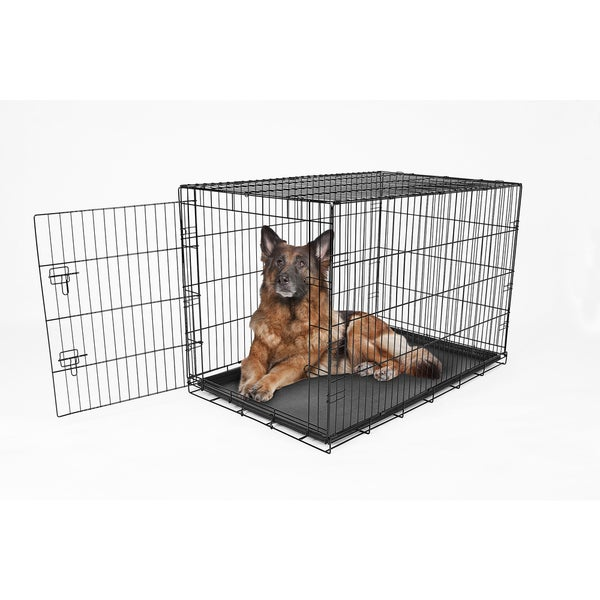 carlson compact single door metal dog crate free shipping on orders over 45
