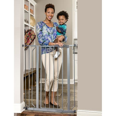 Regalo Easy Step Extra Tall Platinum Baby Gate