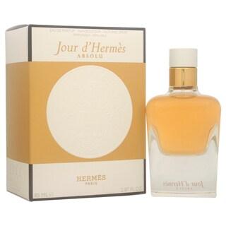 Hermes Jour d'Hermes Absolu Women's 2.87-ounce Eau de Parfum Spray (Refillable)