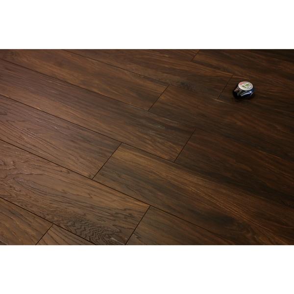 Shop Kokols Antique Walnut Laminate Flooring Planks 155 Sq Ft