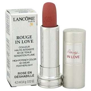Lancome Rouge In Love High Potency Color #240M Rose en Deshabille Lipstick