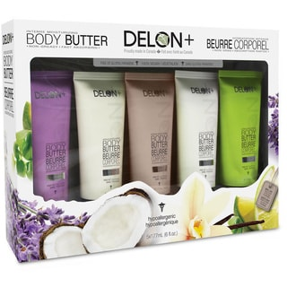 Delon Intense Moisturizing 5-piece Body Butter Gift Set