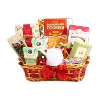 Snowtime Tea Sampler Gift Basket
