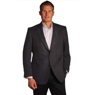 Jean Paul Germain Men's Black Suede-touch Sport Coat|https://ak1.ostkcdn.com/images/products/9466619/P16649608.jpg?impolicy=medium