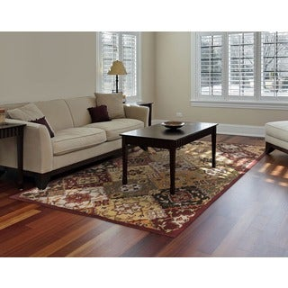 Hand-Tufted Thelma Traditional Border Rug - 4' x 6'