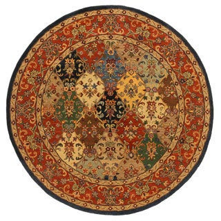 Hand-Tufted Mollie Traditional Border Rug (6' Round)
