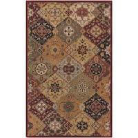 Hand-Tufted Thelma Traditional Border Rug - 7'6 x 9'6